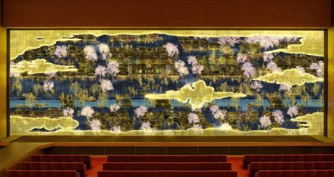 これは見てみたい!チームラボが劇場「明治座」の145周年を記念してデジタルな緞帳を制作