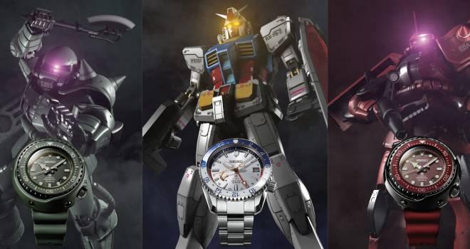 普通にカッコいいぞ!ガンダムのモビルスーツをイメージした腕時計が発売へ!