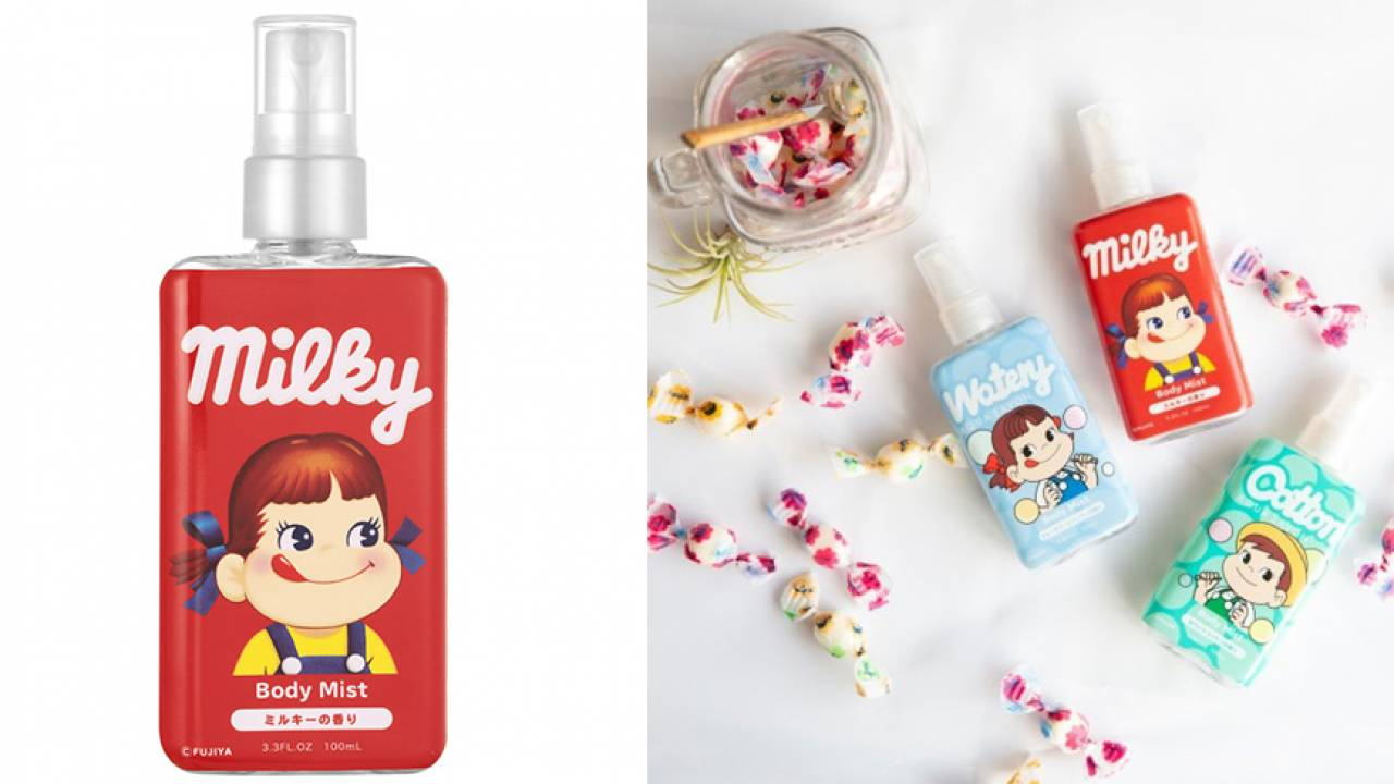 ママの香り?不二家キャンディ「ミルキー」の香りを再現したボディミストが発売!