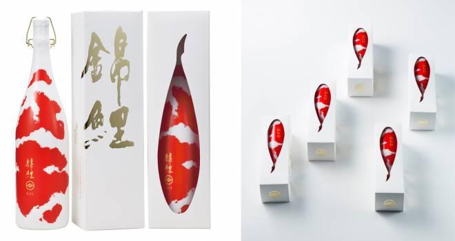 まるで悠々と泳ぐ錦鯉!国内外で高評価を得ている美しき日本酒「錦鯉」に一升瓶バージョン登場!