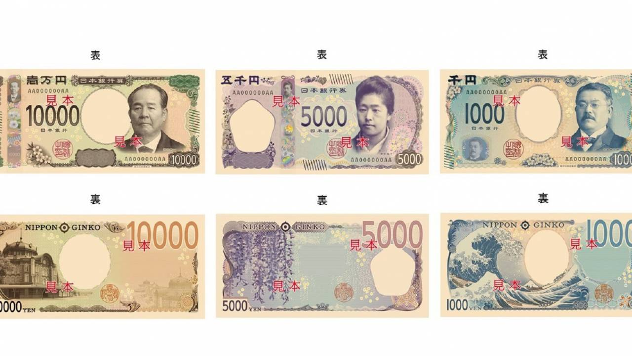 千円札は北斎の富嶽三十六景!一万円、五千円、千円札の新デザイン発表!五百円は二色三層構造に