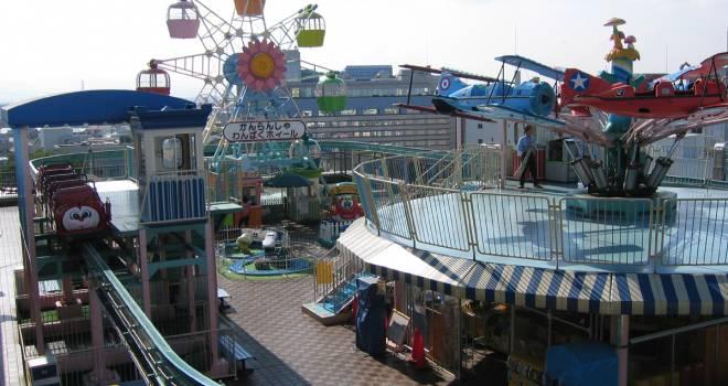 ミニ観覧車楽しかったな…知る人ぞ知る埼玉県川越の屋上遊園地「わんぱくランド」が閉園へ
