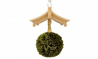 なぜスピーカーにした?(笑) 日本酒の酒蔵に吊るされてる杉玉がモチーフのBluetoothスピーカー!