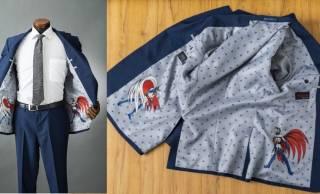 懐かし!科学忍者隊ガッチャマンをガッツリあしらったスーツが数量限定販売!