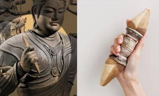 東寺のイケメン仏像「帝釈天」が手に持つ金剛杵がもちもちペンケースになった!