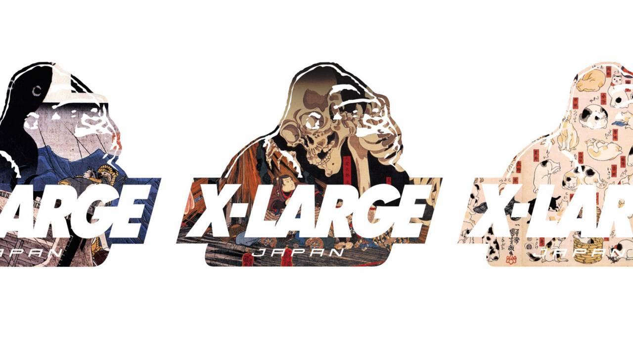 歌川国芳をフィーチャー!XLARGEから浮世絵×ストリートカルチャーを表現したアイテムが発売