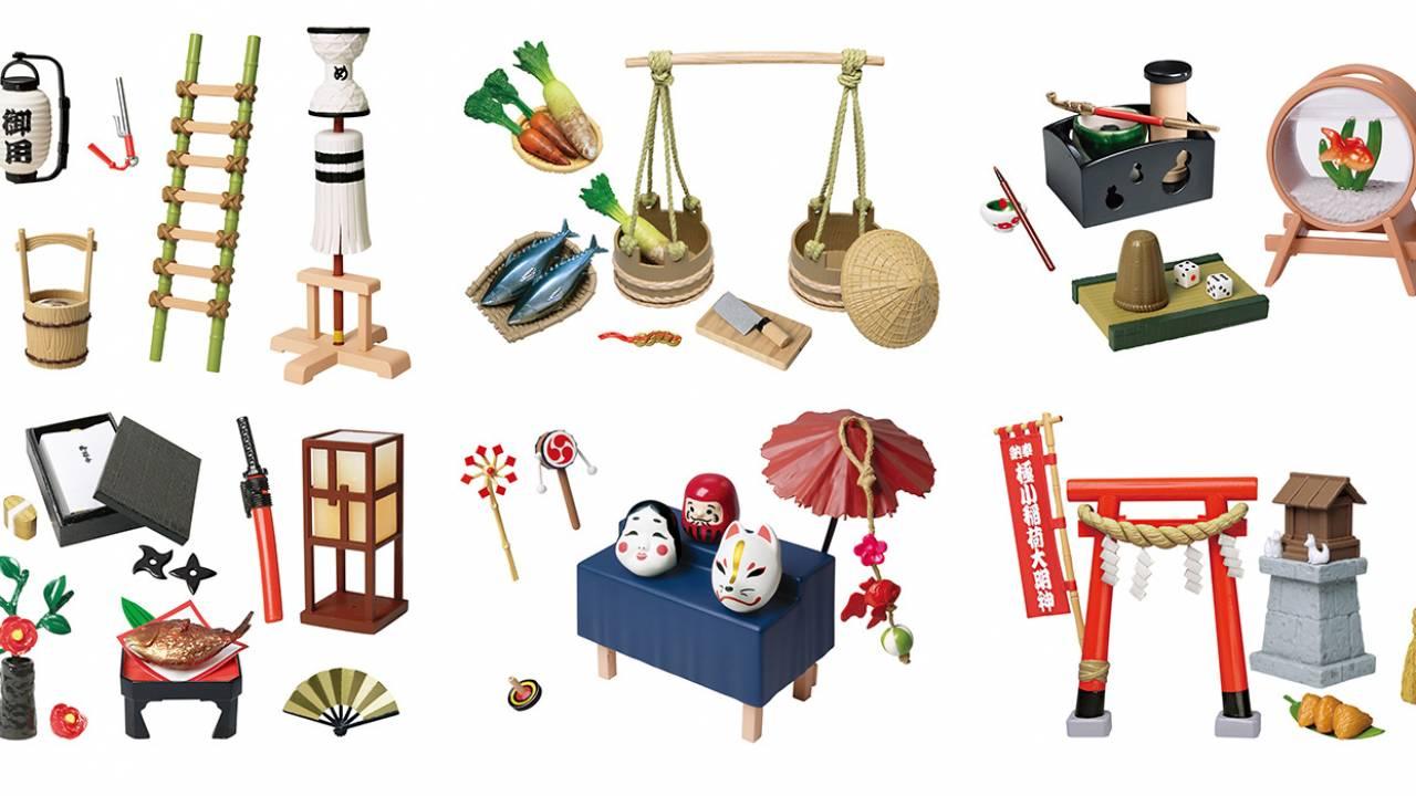 おぉ!コンプしたいぞ!江戸時代の暮らしのアレコレが可愛いミニフィギュアになった「大江戸ジャポニズム」
