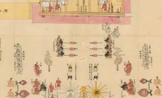 これが江戸時代の即位の儀式!天皇の即位に関する絵図4点を京大がデジタル化し無料ダウンロード公開