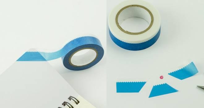 貼ればそこに富士山!驚くほどシンプルに富士山を表現したマステ「Masking Tape FUJI」が素敵!