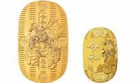 お値段177万円!新時代に相応しい輝きを放つ、新元号令和デザインの純金大判小判が発売