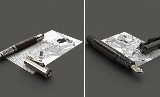 侍の美が随所に!剣豪・宮本武蔵がテーマのプレミアム万年筆「ペン・オブ・ザ・イヤー2019サムライ」