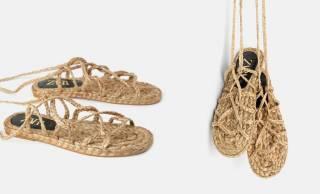 溢れる素朴感!人気ブランドのZARAがなんと「草鞋(わらじ)」を販売していると話題に
