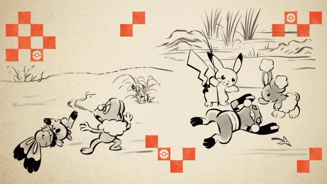 鳥獣戯画モチーフのデザイン登場!ポケモンと和のテーマが融合した和風グッズが可愛いよ♪