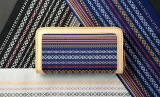 使い続けることで味が出る!博多織とレザーを使用した極上の財布が登場