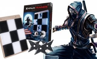 忍者必見!手裏剣術の腕を上げるのに最適なトレーニングアイテム「NINJA TRAINER」