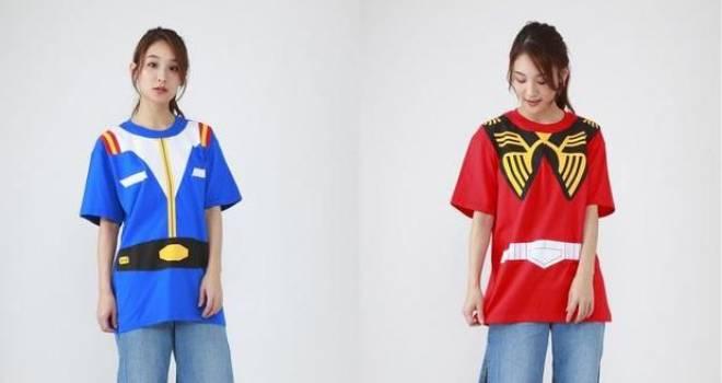 キッズもあるぞ!機動戦士ガンダムのアムロ&シャアの衣装がまんまTシャツになりました!