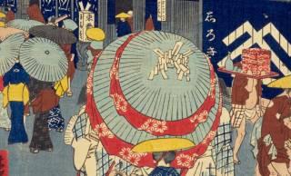 古来日本では「日傘男子」は日常的風景だった。幕府が男性の日傘を禁じたこともあったほど