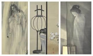 名作落語「死神」を創作した三遊亭圓朝が遺した幽霊画コレクションが勢ぞろい「幽霊画展」開催!