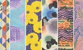 伝統とモダンの同居!明治時代に描かれたデザインアイデア満載の図案集「華紋譜」が素敵です!