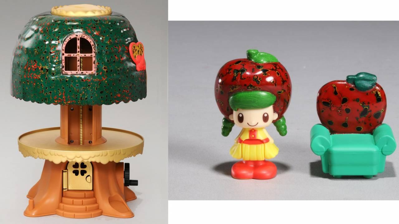 懐かしの玩具「こえだちゃんの木のおうち」が伝統工芸の津軽塗とコラボ!