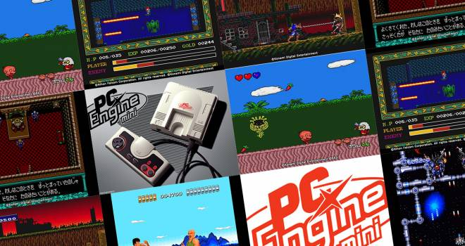 カトちゃんケンちゃんは!?往年のゲーム機・PCエンジンがミニサイズで復刻「PCエンジン mini」発表