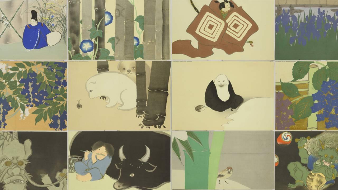 あのゆるふわワンちゃんも!明治時代のマルチアーティスト・神坂雪佳の傑作「百々世草」を一挙紹介!