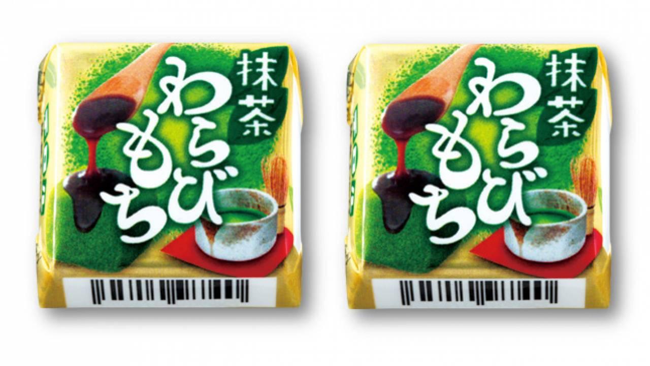 抹茶わらびゼリーのもちっと感が楽しめる「チロルチョコ〈抹茶わらびもち〉」発売!
