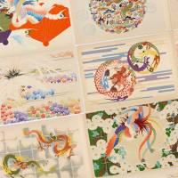 オンライン公開!鳳凰、龍、獅子の伝統的デザインを紹介しまくった昭和初期の図案集「聚祇帖」