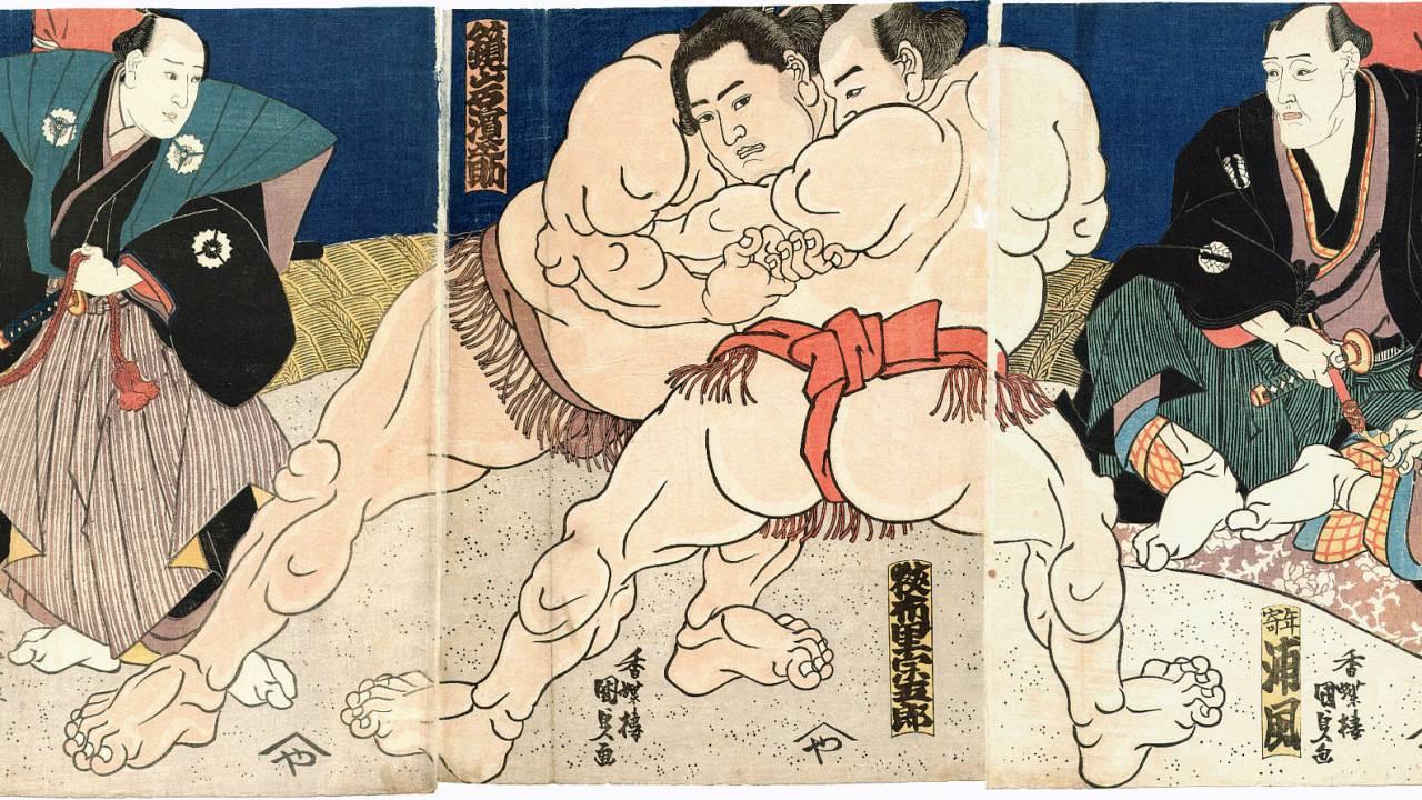 神様同士の力比べが起源?相撲だけなんで「相撲を取る」というのでしょうか