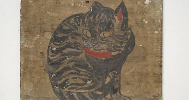 """東北地方の""""猫神様""""が大集結!企画展「猫にお願いー東北地方の猫神・猫絵馬・猫供養ー」開催中"""