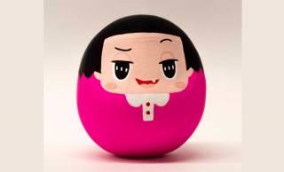 可愛い〜♡チコちゃんに叱られる!のチコちゃんがキュートなダルマさんになりました。