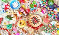 これは期待大!日本の夏祭りをイメージした華やかスイーツが並ぶブッフェ「おとななつまつり」