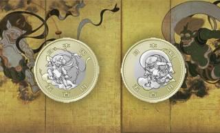 東京オリ・パラの記念貨幣第3弾のデザインが「風神雷神図屏風」に決定!