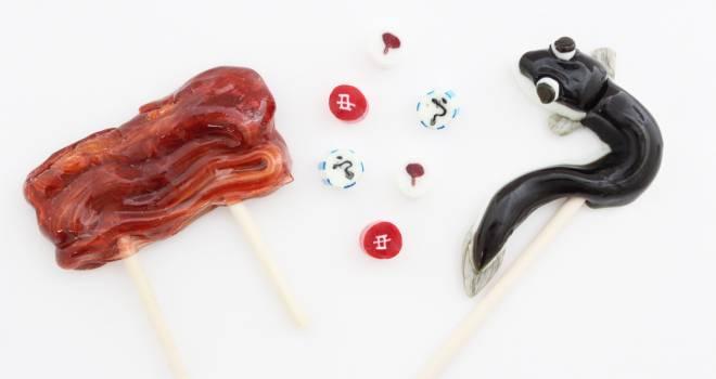 鰻の躍動感(笑)土用の丑の日に向けウナギと蒲焼きのキャンディが発売!