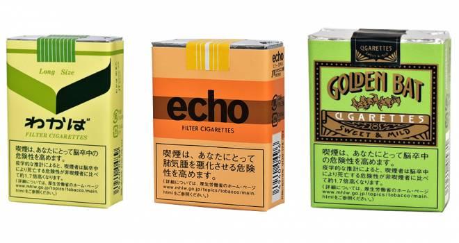 明治発売の銘柄も…タバコ銘柄「わかば」「エコー」「ゴールデンバット」が販売終了へ