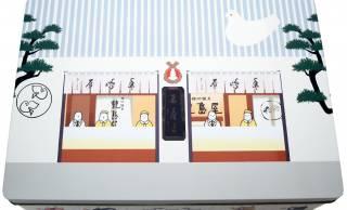 特製マグネットでデコれる!豊島屋が創業125周年で鳩の店員さんが可愛い「鳩サブレー 記念缶」発売!