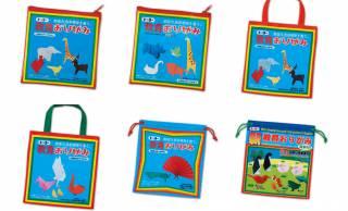 昔懐かし「教育おりがみ」のレトロパッケージがポーチやトートになりました!