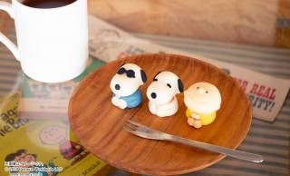 可愛すぎて食べれない!スヌーピーやチャーリー・ブラウンがキュートな和菓子になりました!