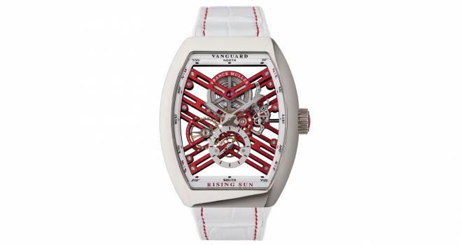 構造美に惚れ惚れ!日出ずる国、日本をイメージした腕時計がフランク ミュラーから新登場!