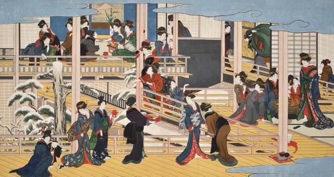 人の集まる場所に花街あり!江戸時代、女郎屋が集まる岡場所はどんな所に作られていたの?