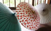 岐阜と沖縄、2つの地域の伝統が重なって生まれたコラボ和傘がステキです!