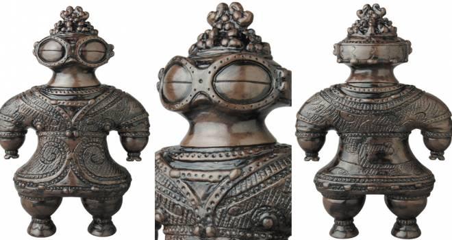 土偶界のエース「遮光器土偶」がソフビ製のフィギュアになって登場!