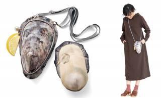 妙にリアルw でもキュート♡牡蠣の身ポーチ付き「牡蠣バッグ」が登場!