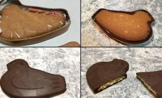天才の発想だこれ(笑)「鳩サブレー缶」で自作したチョコ掛け鳩サブレーが商品化してほしいレベル!