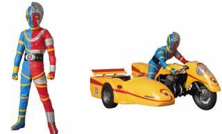 昭和の特撮ヒーロー「人造人間キカイダー」がサイドマシンと共にフィギュアになった!