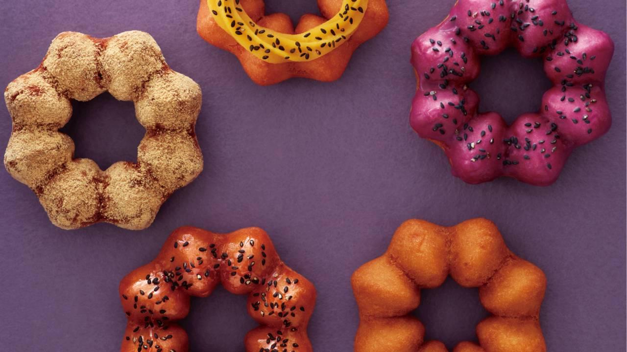 見た目も可愛く♡ミスタードーナツがさつまいもを使用した新商品「さつまいもド」を秋季限定発売