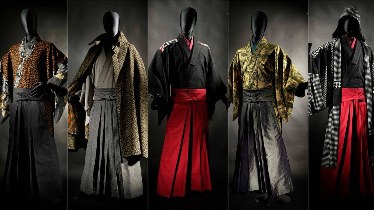 見よこの存在感!次世代型サムライスタイルな男の着物「和次元 滴や」が2019年秋コレクションを発表