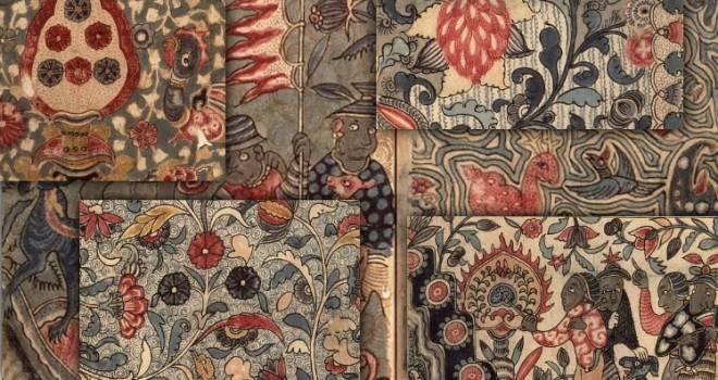 エキゾチックなデザイン満載!更紗文様の古文書「古渡更紗譜」が素晴らしい!