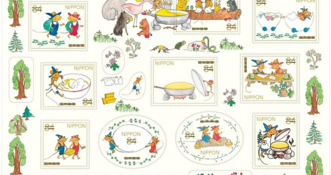 可愛すぎるよーーっ!昭和38年から愛され続ける名作絵本「ぐりとぐら」の特殊切手が発売へ