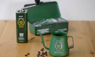 ミリタリーな雰囲気たっぷり!機動戦士ガンダムのジオン軍モチーフのコーヒーミル&ケトル